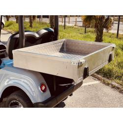 F-CARS DG-C2-8 Benne - Golfette Électrique Back Side