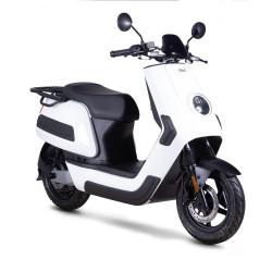 Scooter Électrique NIU NQi Cargo XR Blanc Front Side