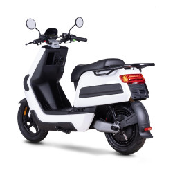 Scooter Électrique NIU NQi Cargo XR Blanc Back Side