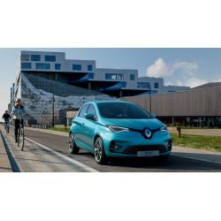 Renault ZOE Bleu Driving