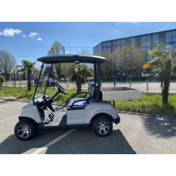 F-CARS DG-C2-8 Benne - Golfette Électrique Side